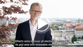 Video statement Stefan Kapferer on 50Hertz' renewables strategy