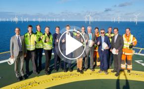 De inauguratie van het Modular Offshore Grid