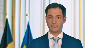Video message Alexander De Croo